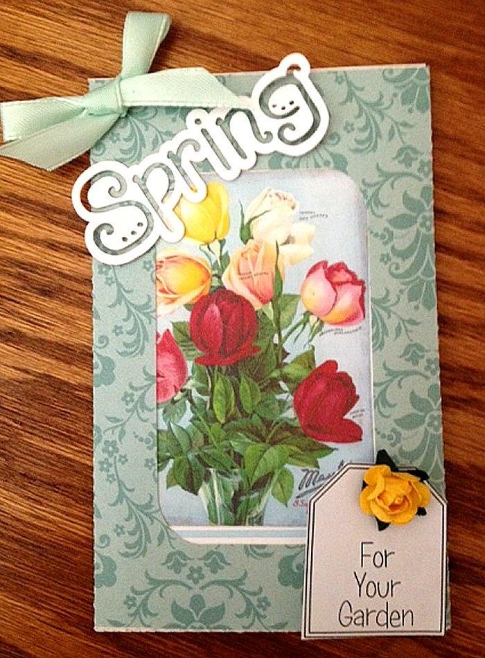 Geyda's Craft Creations: Beautiful Seed Packet Holders
