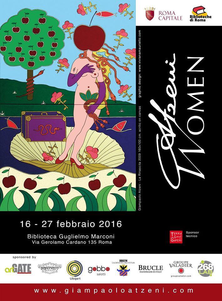 """Giampaolo Atzeni """"Women & Pop Art"""""""