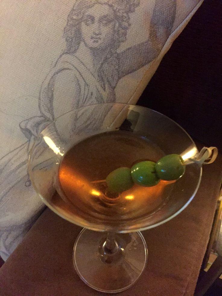 Perfect Martini (slightly dirty)