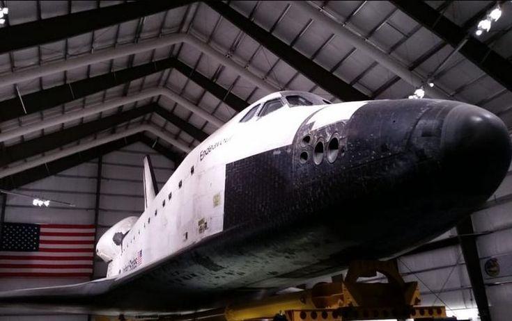 Day Trippen: LA area ideas. Space Shuttle Exposition Park Los Angeles