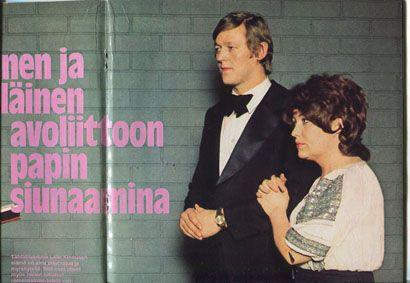 Hymy 01 - 1974, Laila Kinnusen avoliitto