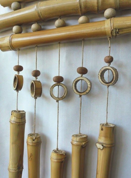 Las 25 mejores ideas sobre centros de mesa de bamb en for Bar movil de madera