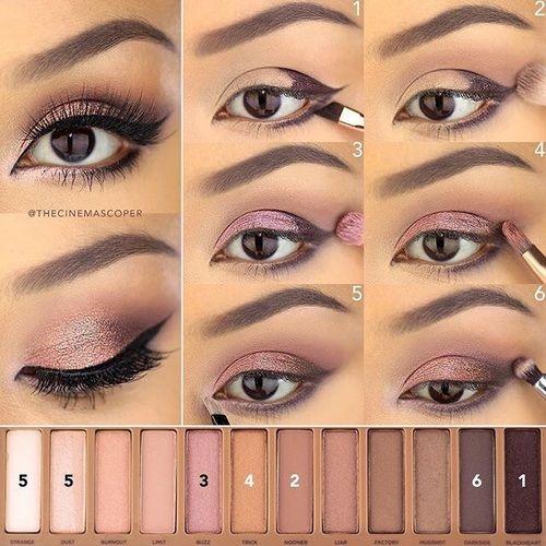 beauty, lashes, and brush image