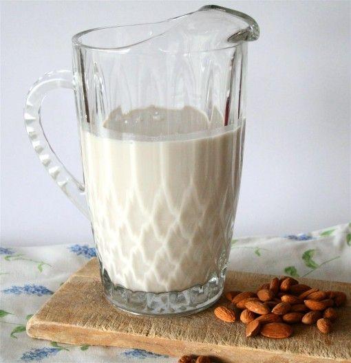Raw Almond Milk  1 cup raw almonds, soaked overnight  6-7 cups pure water  1 tsp. vanilla  Pinch sea salt