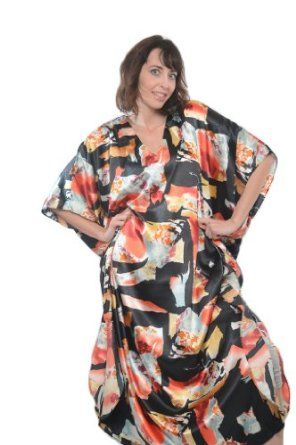 Set of 3 Caftans, Geometric Print Selection, One Size Fits Most, Special#20 Up2date Fashion. $28.99