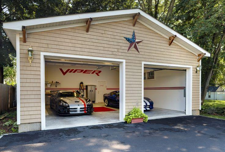 250 Best Garage Images On Pinterest Car Garage Dream