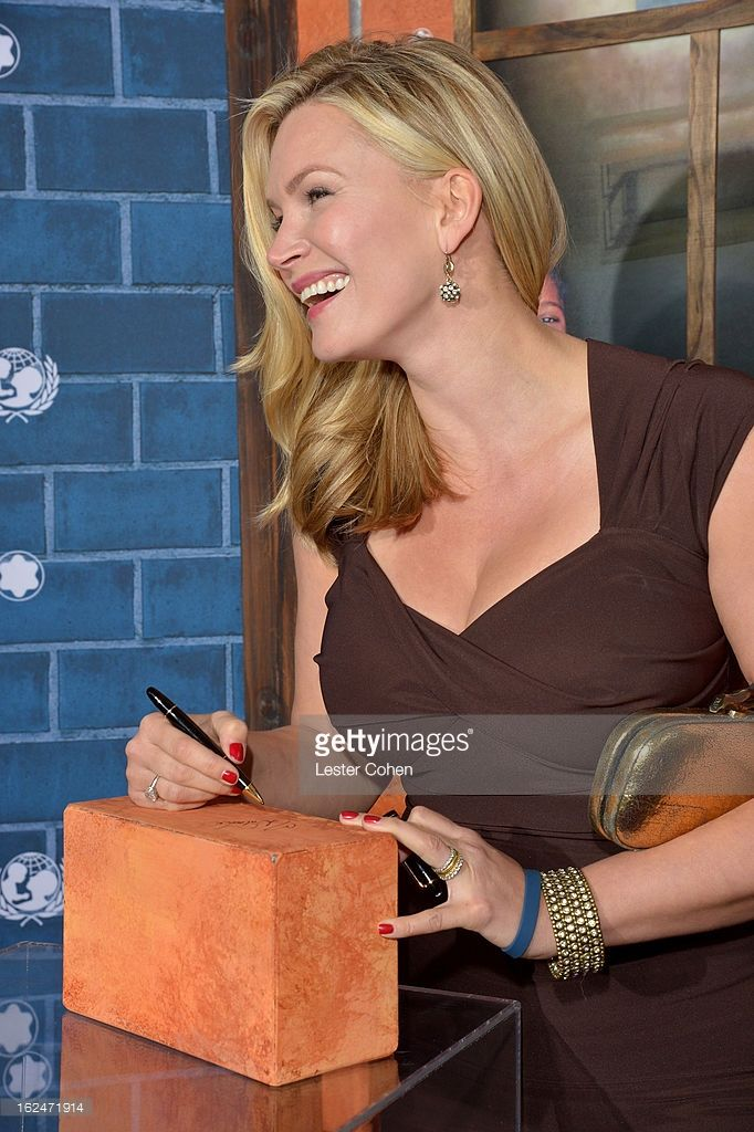 Actress Natasha Henstridge attends a Pre-Oscar charity brunch hosted by Montblanc and UNICEF to celebrate the launch of their new 'Signature For Good 2013' Initiative with special guest Hilary Swank at Hotel Bel-Air on February 23, 2013 in Los Angeles, California.