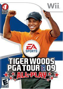 Tiger Woods PGA Tour 09 All Play - Wii Game
