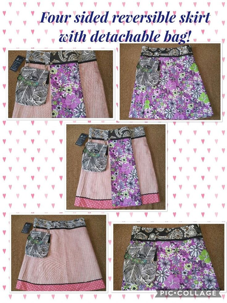 Reversible Zand Amsterdam fair Trade Skirt  | eBay