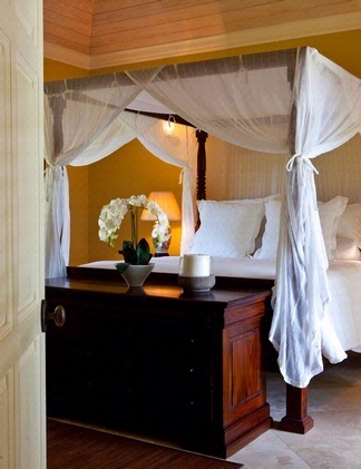 Inspiration for Adam's bedroom at Tempest Hall, Barbados