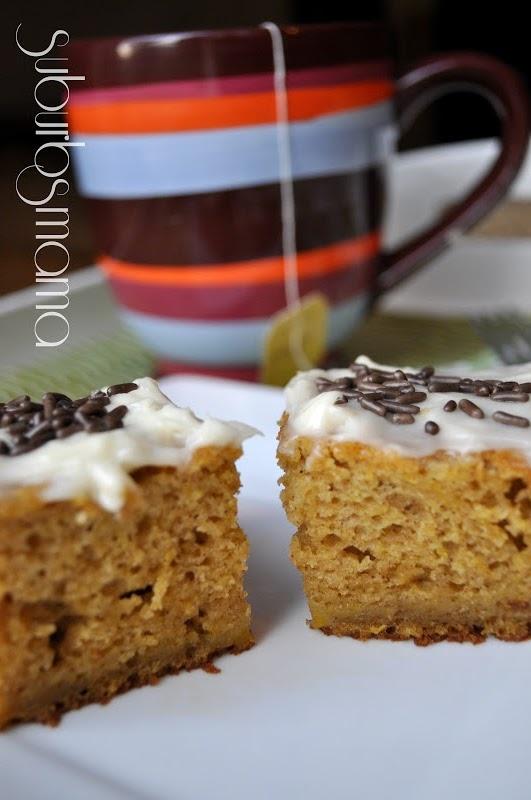 Paula Dean's Pumpkin Bars   paula deen   Pinterest
