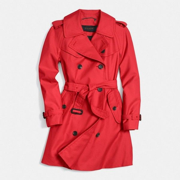 17 best ideas about Red Trench Coat on Pinterest   Trench coats ...