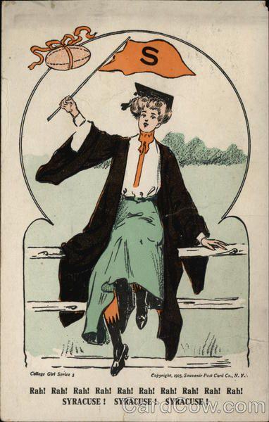 Syracuse College Girl, 1905