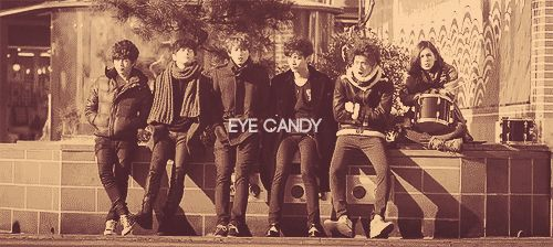 {gif} shut up flower boy band - eye candy is seriously the coolest band name
