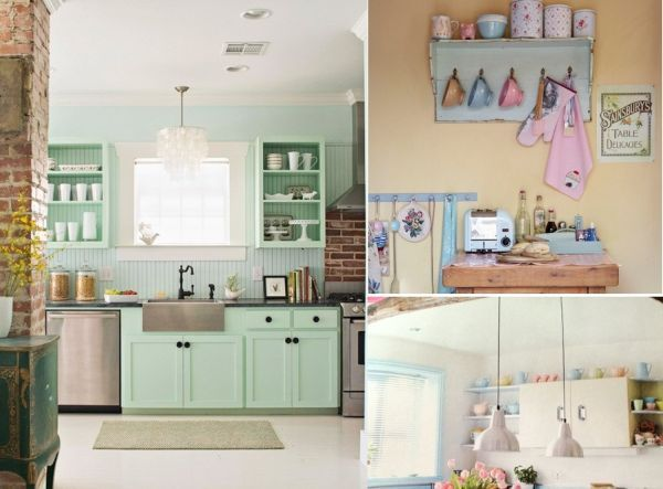 Sweet like Candy: Add A Pop of Pastel to Your Kitchen - Home Decorating Trends