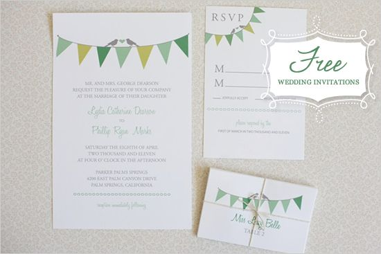 Free E Wedding Invitations: Free Samples From Shine Wedding Invitations