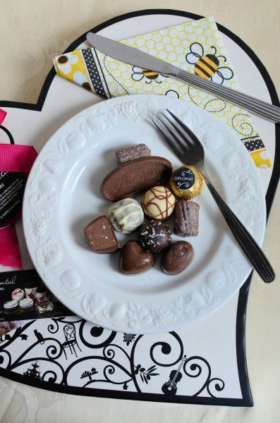 A Romantic Continental Breakfast with Thorntons Chocolates! via @karenburnsbooth