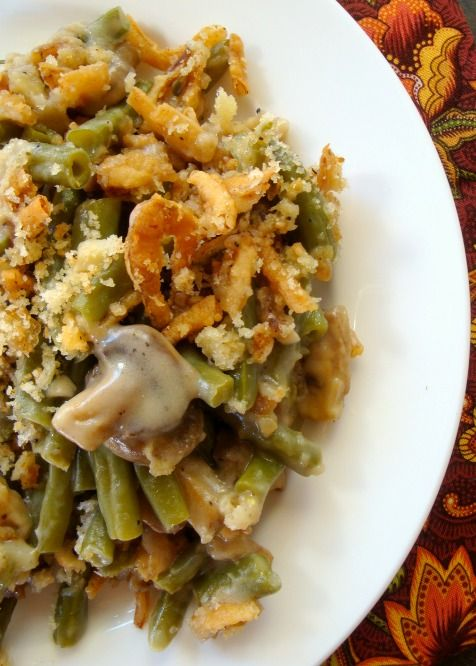 Make Ahead Green Bean Casserole. Truly made from scratch with incredible traditonal