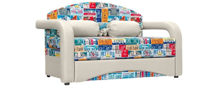 Компактный и яркий диван, трансформирующийся в длинную кровать, идеально впишется в интерьер детской комнаты.  Корпус кровати изготовлен из натурального дерева и обтянут «дышащей» обивкой из экокожи – современной искусственной кожи, такой же прочной, водонепроницаемой, износоустойчивой и приятной на ощупь, как и натуральная. Сидение и спинка дивана представляют собой единый матрас, выполненный из ППУ – высокоэластичного упругого пористого материала, не вызывающего аллергию. Этот матрас…