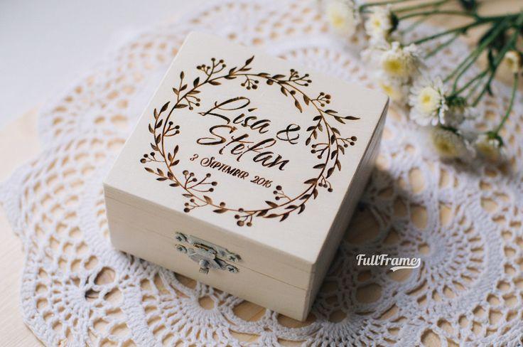 Шкатулки и коробки — Шкатулка для колец в цвете