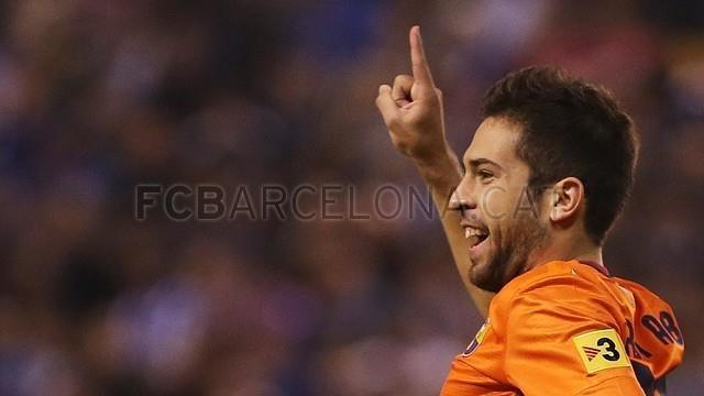 Jordi Alba #FCBarcelona #Alba #18