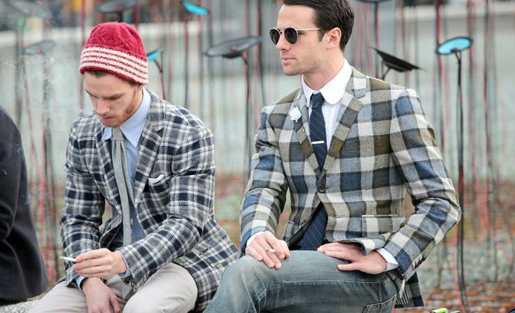 Checkered Blazers