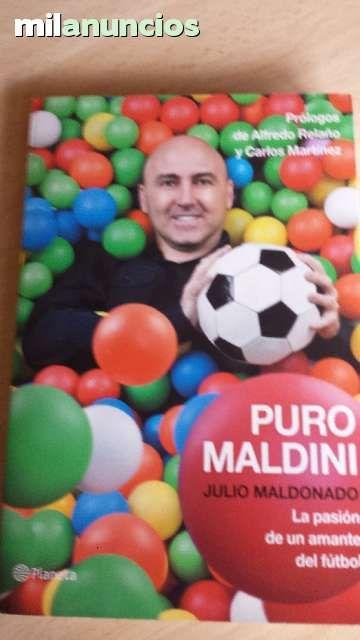 """Vendo libro """"Puro Maldini"""" de Julio Maldonado. Anuncio y más fotos aquí: http://www.milanuncios.com/libros/puro-maldini-140786684.htm"""