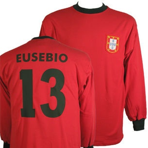 Portugal 1966 w/ EUSEBIO #13 on the back - £45