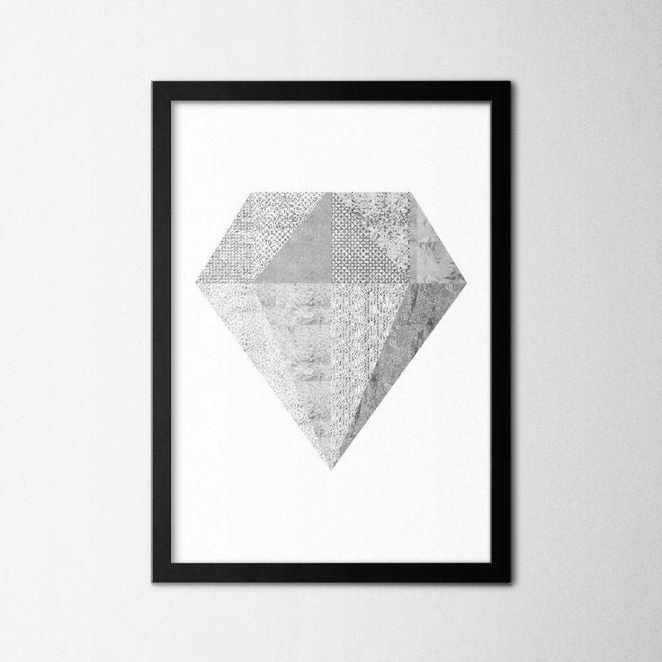 Silver Diamond - Northshire - Metal Wall Art - Metal Wall Decor    #interior #wallart #interiors #interiordesign #inspiration #decor  #decoration #design #ideas #giftideas #art #artforsale #artoftheday #designer   #handmade #homedecor #home #print #artprint #poster #decorationideas #conceptdesign #styling #office #wallart #walldecor #scandinavian #geometric #silver #diamond