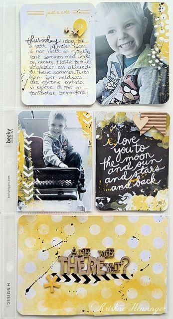KREATIV SCRAPPING BLOGG: DT- Kristine Henanger