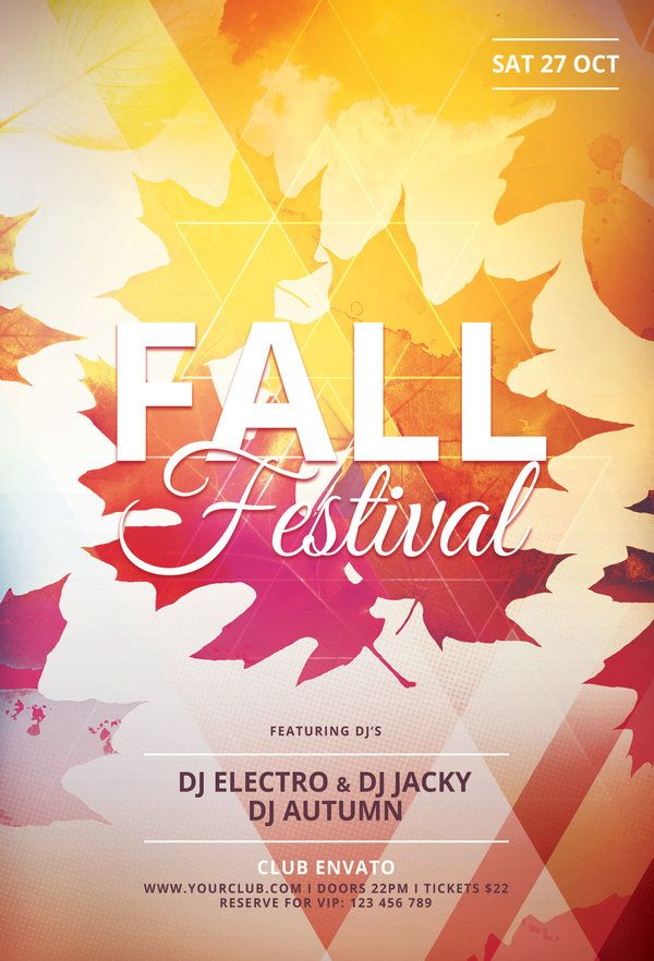 702 best Flyer Design Templates images on Pinterest Flyer design - fall flyer
