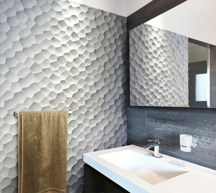 25 Creative 3D Wall Tile Designs To Help You Create Texture On Your Walls Part 63