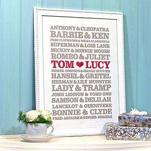 cute idea. wedding gift..