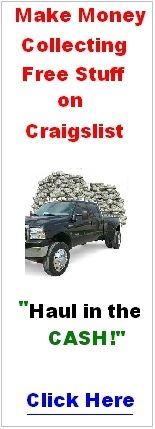 Click Here to Make Money Collecting Free Stuff on Craigslist