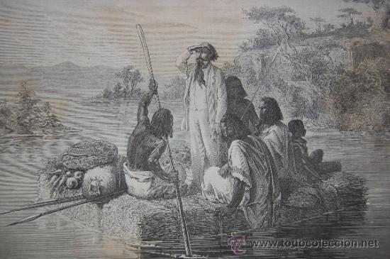 Libros antiguos: LE TOUR DU MONDE, 2º SEMESTRE DE 1863, SPITZBERG, ABISINIA, ESPAÑA... GRABADOS DE DORÉ, BAYARD... - Foto 15 - 35689529