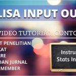 Input Output: Tabel Analisa Tutorial Contoh