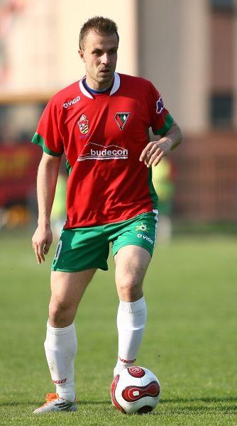 Krzysztof Markowski, obrońca, prezentuje FairSport, agent piłkarski