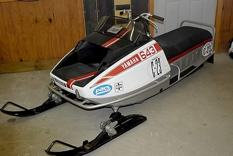 Vintage classic antique yamaha reporduction parts and for Yamaha snowmobiles canada
