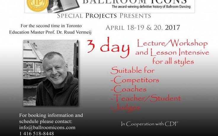 Ballroom Dance Workshop with Professor Ruud Vermeij | TorontoDance.com