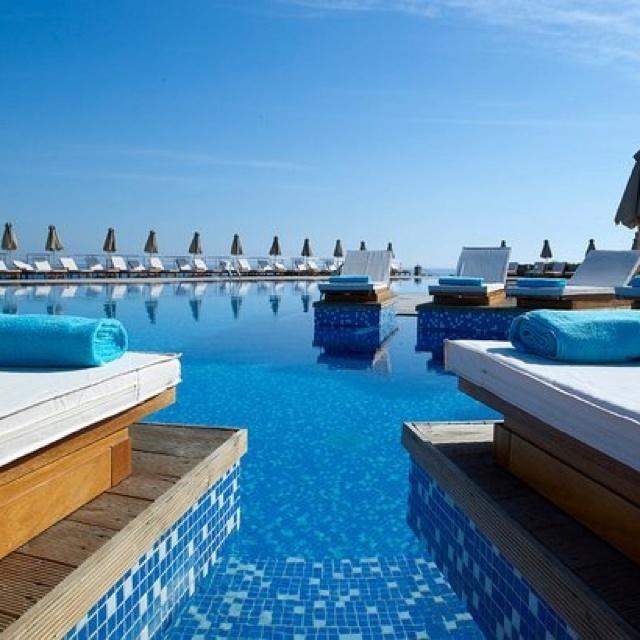 Sensimar Royal Blue Resort, Crete. Main pool.
