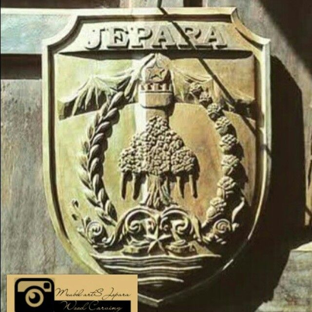 Logo jepara city midle of java indonesia