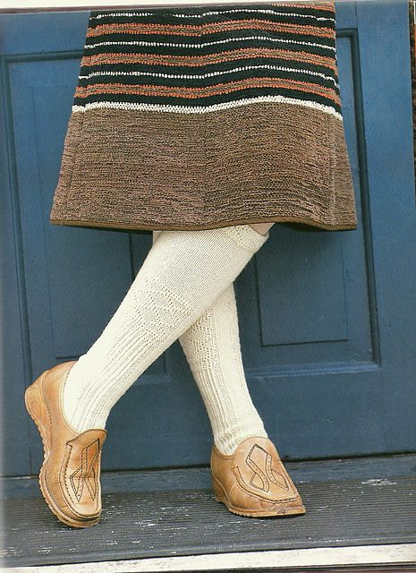 Ravelry: Äyräpään vikkelisukat pattern by Traditional Finnish Design. Great socks AND skirt AND shoes!