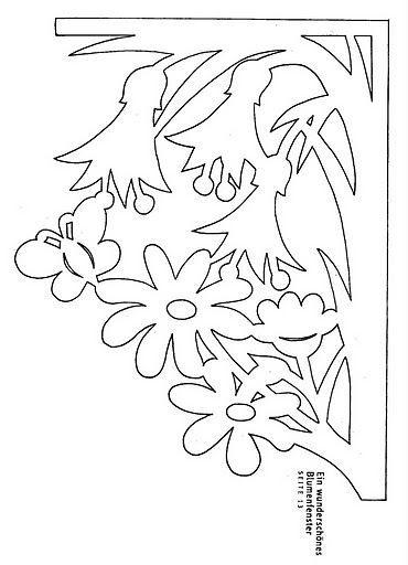 Вычинанки и киригами (цветы) - AngelOlenka - Álbumes web de Picasa
