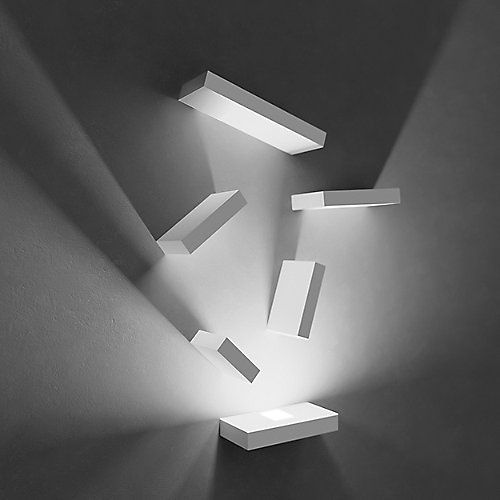 Attractive A Game Of Light And Shadows, Set Is A Modular Wall Art Sconce Designed To  Decorate The Wall With Customized Compositions Of Illuminated Rectangular  Piece Amazing Ideas