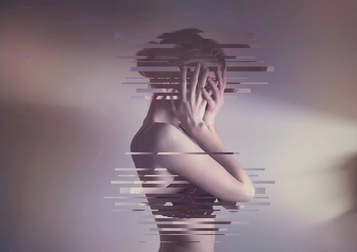 Photography + minimal design. = <3! Mysterious Alter-Ego Created Through Imaginative Self-Portraits by Rachel Baran