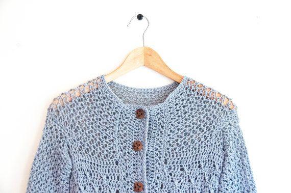 CROCHET PATTERN - DIY - Cardigan crochet pattern, women's cardigan, woman's jacket, gift idea, Christmas gift idea, women's clothing,fashion
