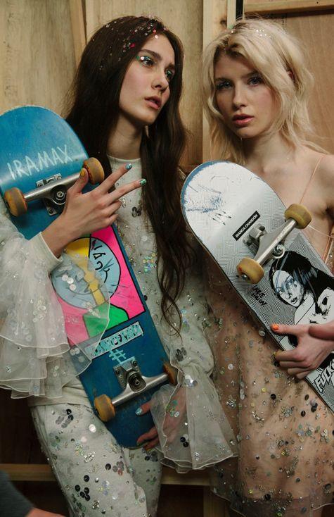 Skater girls. @thecoveteur