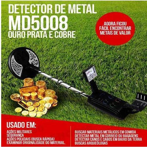 detector de metal  ouro prata valor R$1249,99