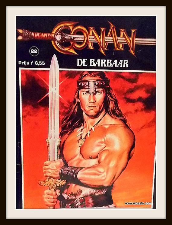 Conan de Barbaar  Het bloedige zwaard van Conan de door Woests