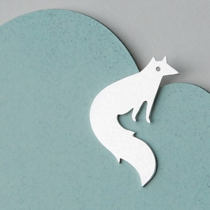 Little Vixen Necklace by Joanna Rutter
